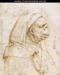 Caricature 2 - Leonardo Da Vinci - www.leonardoda-vinci.org