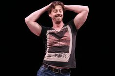 How Christian Borle got buff to play the Bard in 'Something Rotten ...
