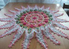 Centerpiece-free Patterns-Crochet step by step - Crochet Websites Free