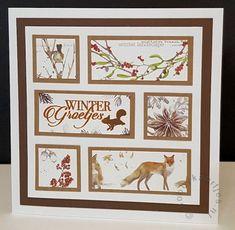 Tapas, Marianne Design, Winter Landscape, Vintage Cards, Washi Tape, Ephemera, Embellishments, Christmas Cards, Card Making