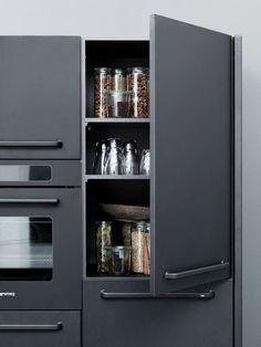 VIPP KITCHEN 06 Modular Stainless Steel Kitchen from Vipp