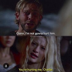 Claire and Charlie Lost Season 2, Charlie Pace, Lost Tv Show, Lost Quotes, Wizards Of Waverly Place, Addicted Series, In Another Life, Boy Meets World, Parks And Recreation