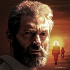 Logan (Hugh Jackman) Pintura digital