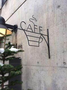 Cafe sign