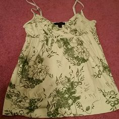 Express floral printed top Great condition, cute top for a summer night out or you could dress it up for work. 60% Pima cotton, 40% modal Express Tops Tank Tops