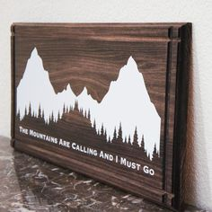 Call of the Mountains Sign | dotandbo.com