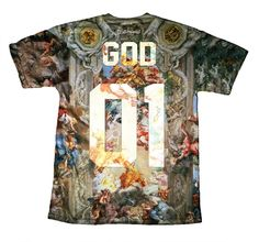 God Team t-shirt!  http://www.bittersweetparis.fr/product/god-team-tshirt