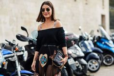 See all the most covetable street style looks from Paris Fashion Week - https://www.luxury.guugles.com/see-all-the-most-covetable-street-style-looks-from-paris-fashion-week-39/
