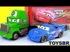 TOYSBR KLIP KITZ CARS 2 Mack Truck Hauler Blocks | Disney CARROS Relampago McQueen e o Caminhão Mack - YouTube