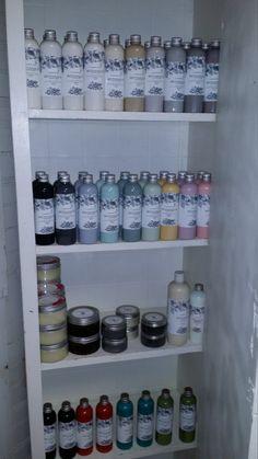 L'essentiel Botanics Furniture Paint - Liquid Carbon 250ml (approx. 8.454 fl oz) by BabyBAntiques on Etsy