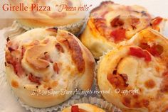 Girelle pasta pizza   Pizza rolls ricetta il mio saper fare