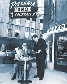 Timeline of pizza in Chicago