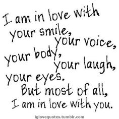 Adorable Cute Quotes about Love are the besy way to calm down your girlfriend, when she gets angry to you. send our cute love quotes to her to calm her down Cute Love Quotes, Love Quotes For Her, Romantic Love Quotes, Quotes For Loved Ones, Sayings About Love, Cute Sayings, Sweetest Quotes, Beautiful Love Quotes, Romantic Ideas