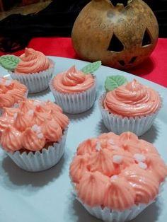 Las recetas de Maria Antonia: Cupcakes de Calabaza. Reto de Octubre