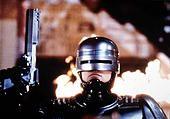 RoboCop, USA 1987, Director: Paul Verhoeven, Actors/Stars: Peter Weller, Nancy Allen, Dan O'Herlihy - Stock Photo