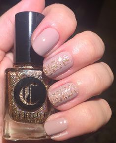 """nessabraude: """"I enjoyed wearing some nail art this week that was a little more neutral in colour. This is Ciate- Iced Frappe upon which I used some vinyls to create a Greek square mural design with Cirque Colors - Morganite which sparkles beautifully..."""
