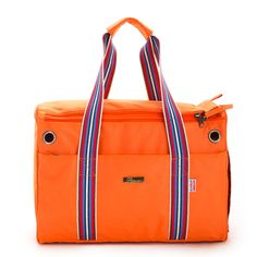 Orange Oxford Fabric Fashion  Pet Dogs Carrier Bag With Cotton Straps Free Shipping Fashion Small Puppy Dogs Bag