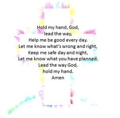 A small prayer I thought would be great for children to say every day! Power Of Prayer, My Prayer, Kids Prayer, A Childs Prayer, Childrens Prayer, Morning Prayers, Morning Prayer For Kids, Religious Education, Early Education
