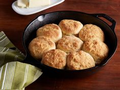 Grapevine Kentucky Buttermilk Biscuits recipe from Jeff Mauro via Food Network