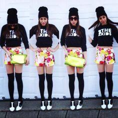 florals for the kids #FTK #florals #blackandwhite #fashion