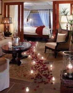 Combo San Valentín. Día De Los Enamorados. Pétalos De Rosas - $ 2.390,00 en Mercado Libre