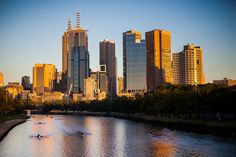 Early Morning on the Yarra River by James Jardine on Flickr.