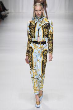 Versace, Весна-лето 2018, Ready-To-Wear, НЕДЕЛЯ МОДЫ: Милан
