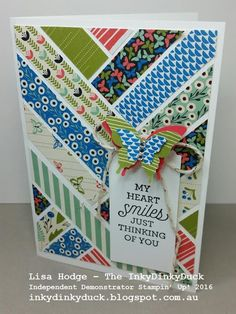 The InkyDinkyDuck - Lisa Hodge Stampin' Up!® Australia: Pretty Petals Scrap Card + Class Reminder For This...