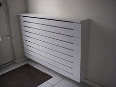 radiator ombouw hal