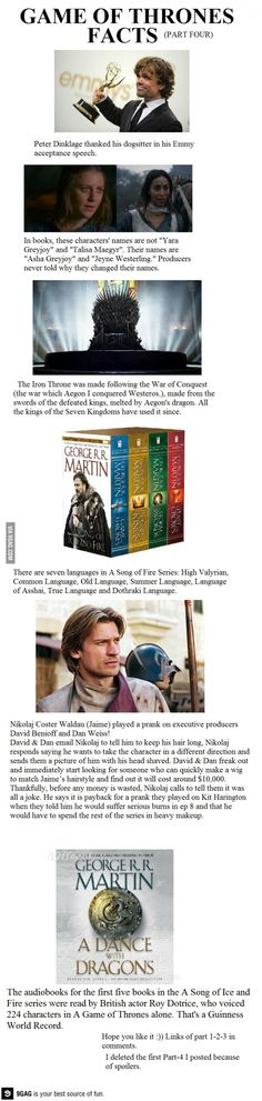 (fix)Game of Thrones Facts-Part Pinned for the Jaime (Nikolaj Coster-Waldau) one XD Valar Dohaeris, Valar Morghulis, Medici Masters Of Florence, Game Of Thrones Facts, Game Of Thones, My Sun And Stars, Iron Throne, Love Games, Fandoms