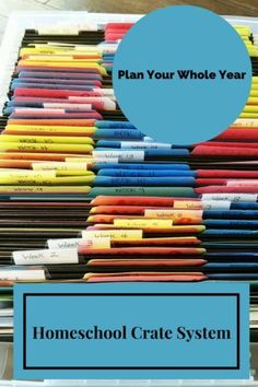 I am going to plan the whole year out in advance by using Kristi Clover's Crate System. I will walk you through how I have set up my crate system for our homeschool. http://faithfilledparenting.com/crate-system-homeschool-organization/?utm_campaign=coschedule&utm_source=pinterest&utm_medium=Faith%20Filled%20Parenting&utm_content=The%20Crate%20System%20for%20Homeschool%20Organization