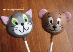 jerri cake, cakepop princesscouk, cake pops, tom and jerry cake, pop cake
