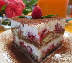 Malinové tiramisu Tiramisu, Cheesecake, Ethnic Recipes, Cakes, Cheese Pies, Mudpie, Cheesecakes, Cake, Pastries