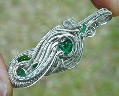 ©Merrick Noyes #wirewrap #jewelry #wirewrapjewelry