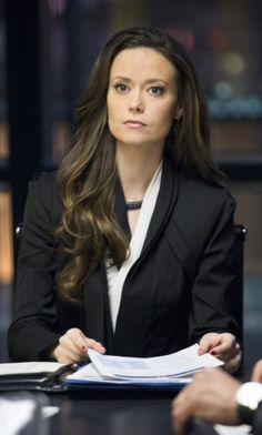 """Arrow -- """"Deathstroke"""" -- Image -- Pictured: Summer Glau as Isabel Rochev -- Photo: Diyah Pera/The CW -- © 2014 The CW Network, LLC. All Rights Reserved. Summer Glau Arrow, River Tam, Claudia Black, Arrow Tv Series, Real Tv, Emily Bett Rickards, Dc Movies, Popular Shows, Deathstroke"""