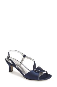 David Tate 'Crescent' Satin Sandal (Women) available at #Nordstrom