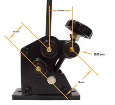 Manual Roll Bender (R-M3) | Baileigh Industrial | Baileigh Industrial