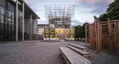 Pavilhão Schaustelle / J. Mayer H. Architects  © Photographs of Architecture