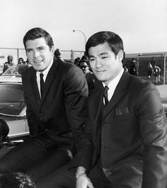 Van Williams and Bruce Lee; Green Hornet and Kato