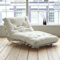 This looks SO comfy, perfect for overnight guests. $249 from West Elm.