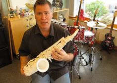 3ders.org - A sneak preview of Olaf Diegel's 3D printed saxophone   3D Printer News & 3D Printing News