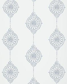 Luna Stripe Wallpaper via Serena & Lily