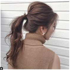 """秋冬のモテ髪はこれに決定。木村一平さんが教える""""NYポニー""""は後ろ姿も艶っぽい   by.S"""