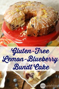 Jam-packed with plump blueberries and topped with a yummy lemon glaze this has got to be one of my FAVORITE bundt cakes EVER!!   #lemondessertsFTW  :-)