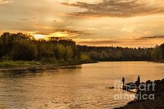 Fishing At Sunset  : http://fineartamerica.com/profiles/robert-bales/shop/all/all/all