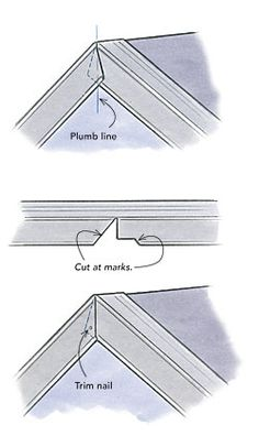 Metal rake-edge roof flashing is sold without labels or instructions. Roofing contractor Dyami Plotke offers his advice on edge flashing for roofs. Pliage Tole, Vinyl Siding Installation, Roof Flashing, Roof Edge, Diy Roofing, Steel Frame House, Home Fix, Roof Structure, Roof Repair