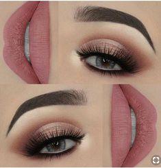 Schritt für Schritt Make-up - Makeup Tips For Older Women Makeup Eye Looks, Smokey Eye Makeup, Cute Makeup, Gorgeous Makeup, Pretty Makeup, Makeup Goals, Makeup Inspo, Makeup Inspiration, Makeup Style