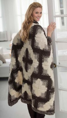 Crochet Patterns Galore - Log Cabin Afghan