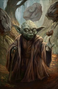 Master Yoda by *pinkhavok on deviantART