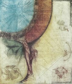 Sam Parabirsingh (1943 - 2003) Fly Icarus fly (1989), kleurenets 4/15, 45 x 50